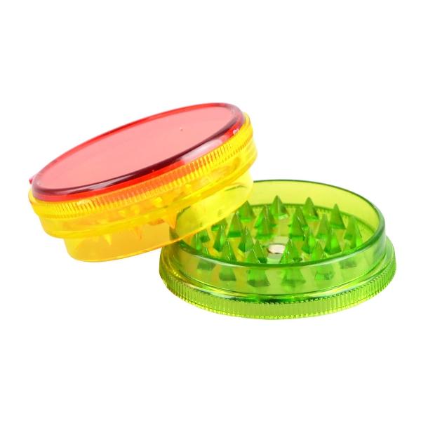 Grinder de 3 piezas modelo Rasta (plástico)